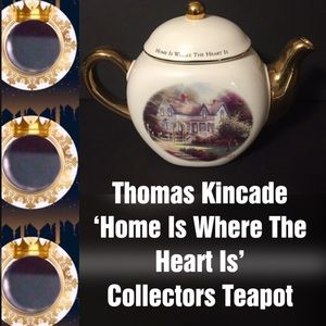 🍁FALL INTO🍁 Thomas Kincade Collectors Teapot